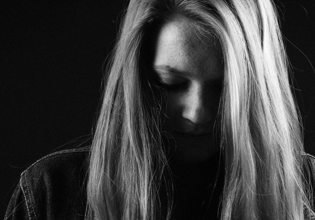 femme depressive