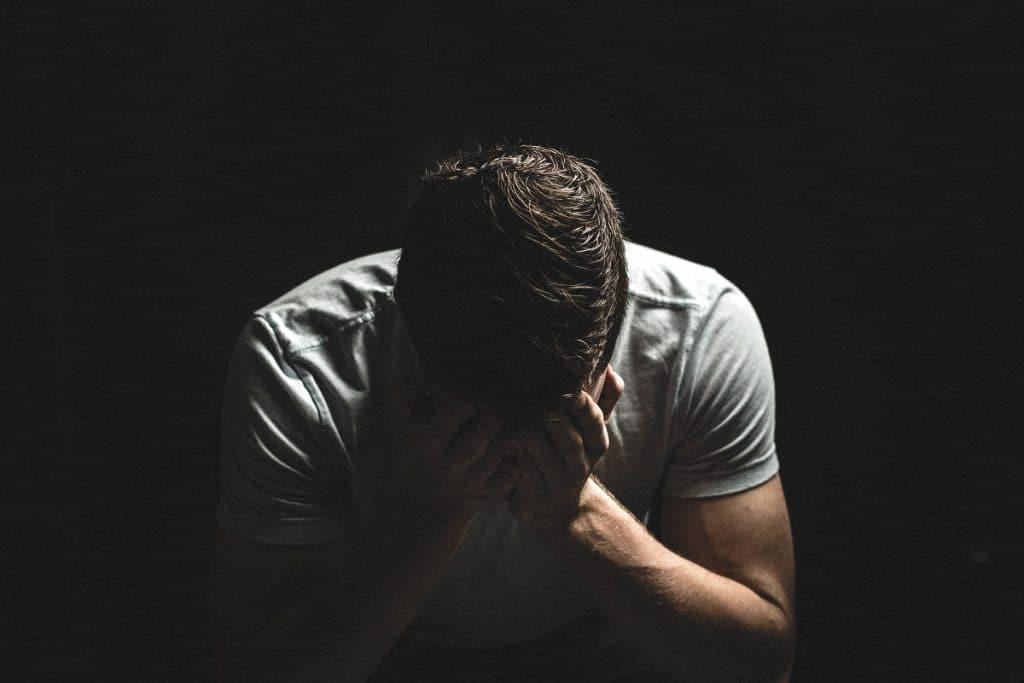 homme titre depressif